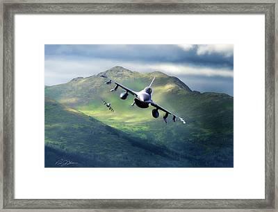 Viper Valley Framed Print