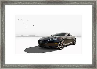 Virage Framed Print by Douglas Pittman