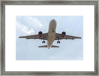 Virgin America Airbus 319 Framed Print