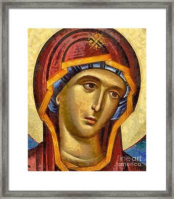 Virgin - Detail Framed Print