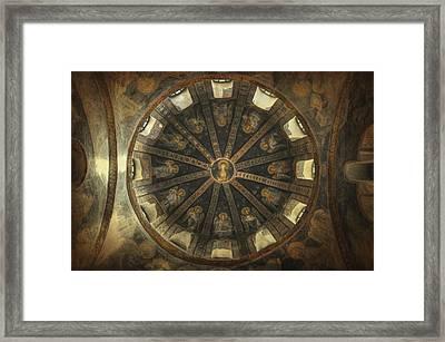Virgin Mary Cupola Framed Print