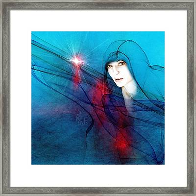 Virgin Mary Framed Print by Reno Graf von Buckenberg