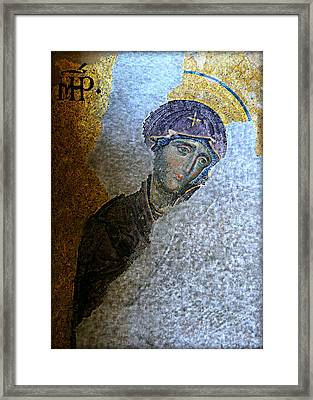 Virgin Mary Framed Print by Stephen Stookey