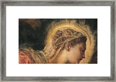 Virgin Mary  Framed Print by Tintoretto