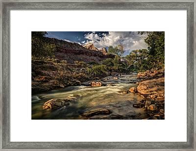 Virgin River Framed Print by Jeff Burton