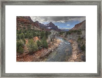 Virgin River Framed Print