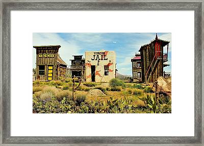 Virgin Utah Framed Print by Benjamin Yeager