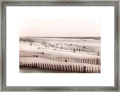 Virgina Beach Vacation Memories Framed Print