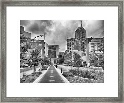 Virginia Ave. Framed Print by Howard Salmon