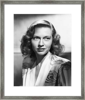 Virginia Christine, Ca. Mid-1940s Framed Print