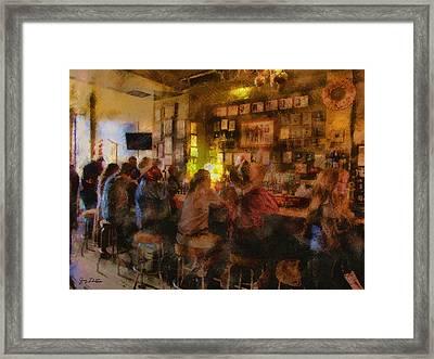 Virginia City Bar Framed Print