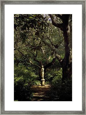 Framed Print featuring the photograph Virginia Dare Statue by Greg Reed