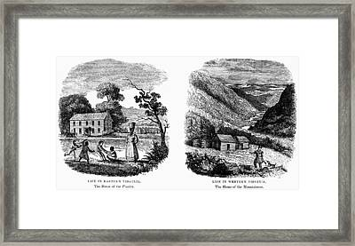 Virginia East And West Framed Print by Granger