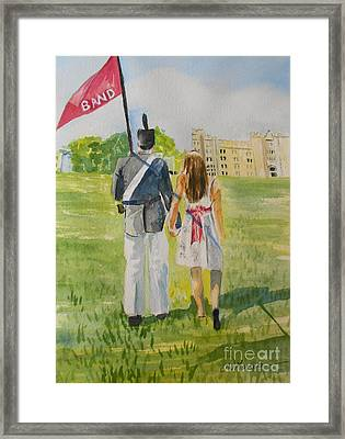Virginia Military Institute Framed Print by Jill Morris