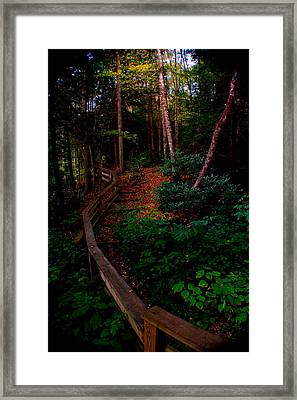 Framed Print featuring the photograph Virginia Morning by Jon Emery