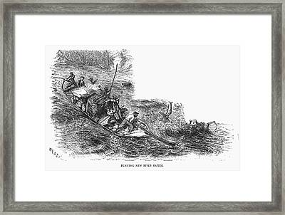 Virginia New River, 1873 Framed Print