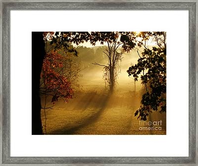 Framed Print featuring the photograph Virginia Sunrise by Carol Lynn Coronios