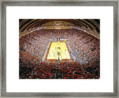 Virginia Tech Hokies Cassell Coliseum Framed Print by Replay Photos