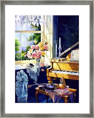 Virginia Waltz Framed Print by Hanne Lore Koehler