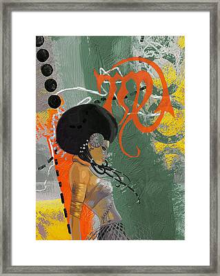 Virgo - B Framed Print by Corporate Art Task Force