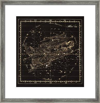 Virgo Constellation, 1829 Framed Print by Science Photo Library