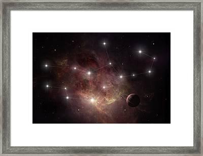 Virgo Framed Print by Ian Merton