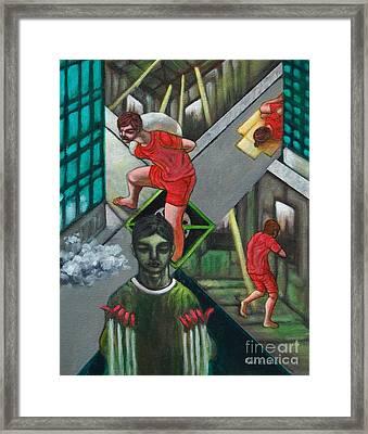Viro Stulto Framed Print