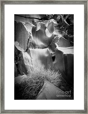 Vishnu Stair Framed Print by Inge Johnsson