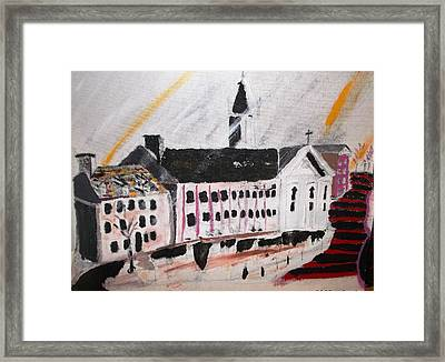 Visi Back In The Day Framed Print