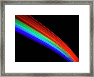 Visible Light Spectrum Framed Print by Science Photo Library