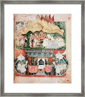 Visigothic Art Vi-vii Century Framed Print