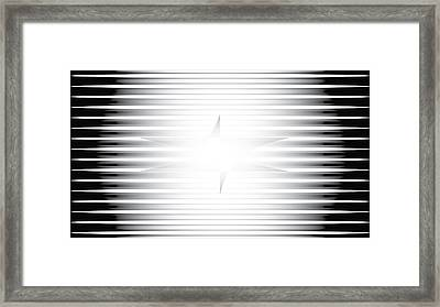 Framed Print featuring the digital art Vision Chamber by Kevin McLaughlin