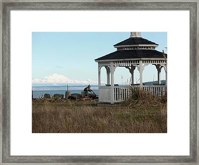 Vision For A New Year Framed Print