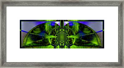 Framed Print featuring the photograph Vision Logic No. 2 by Robert Kernodle