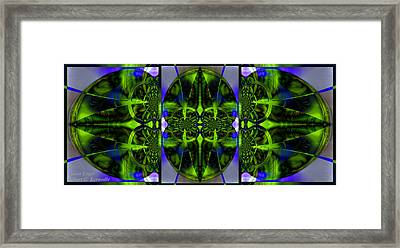 Framed Print featuring the photograph Vision Logic by Robert Kernodle