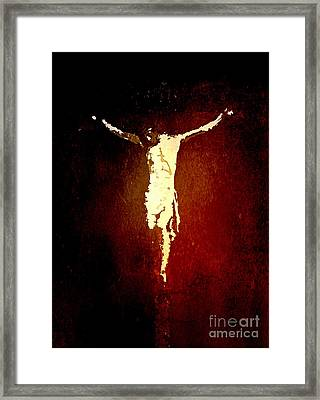 Vision Of Christ Framed Print