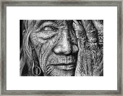 Vision Framed Print by Penny Collins