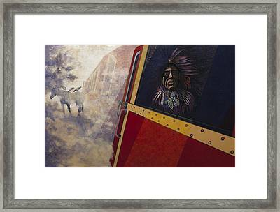Vision Quest 2 Framed Print by Laureen McMullan