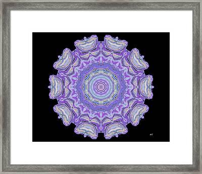 Vision Wheel Framed Print by Aliceann Carlton
