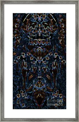 Visionary 3 Framed Print by Devin Cogger