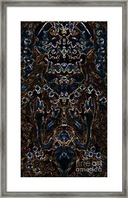 Visionary 4 Framed Print by Devin Cogger