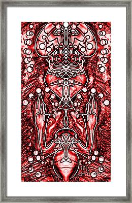 Visionary 6 Framed Print by Devin  Cogger