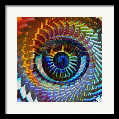 Hypnotic Abstract Framed Prints