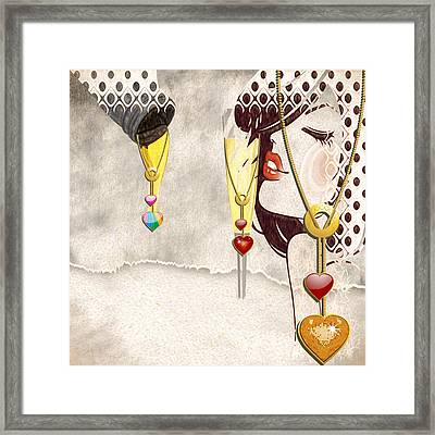Visionary Framed Print by L Wright