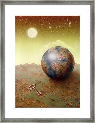 Visions Framed Print by Achim Prill