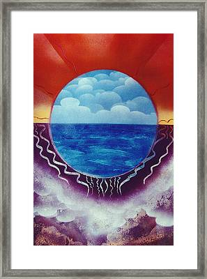 Visions Framed Print by Jason Girard