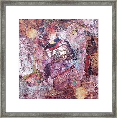 Visions Framed Print by Judy Tolley