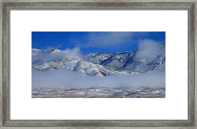 Framed Print featuring the photograph Visions by Marilyn Diaz