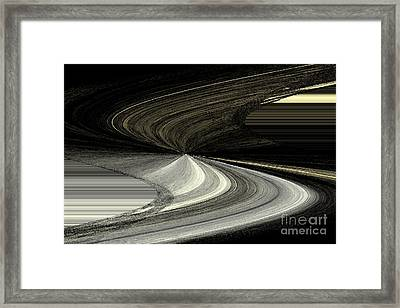 Visions Of Black And White Framed Print
