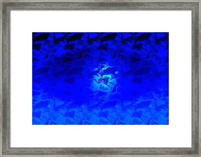 Visions Of Blue Framed Print by Kellice Swaggerty
